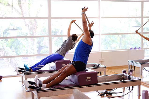 pilates studio in singapore - duet 1