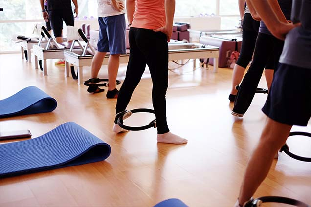 pilates studio in singapore - mat class 3
