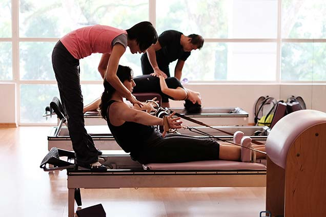 pilates studio in singapore - private class 1