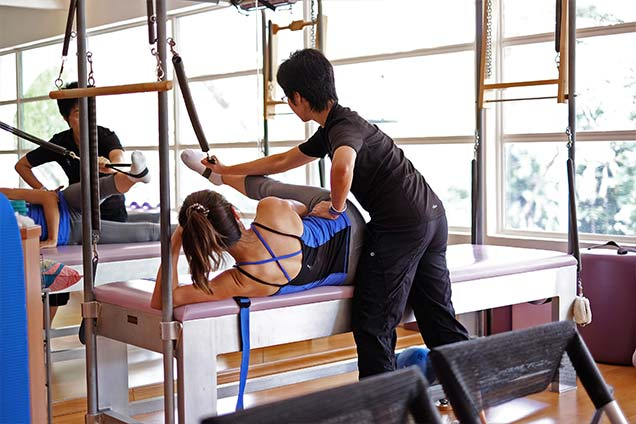 pilates studio in singapore - private class 5